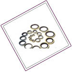 Hastelloy bond-sealing-washers