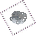 Hastelloy flat-washers