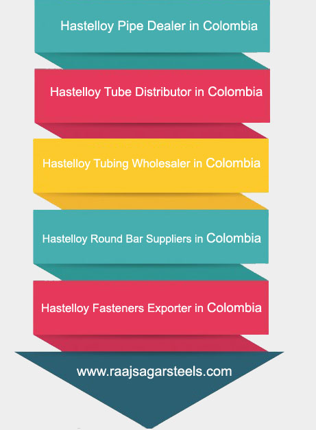 Hastelloy Pipe,Tube,Tubing,Round Bar Supplier in Colombia