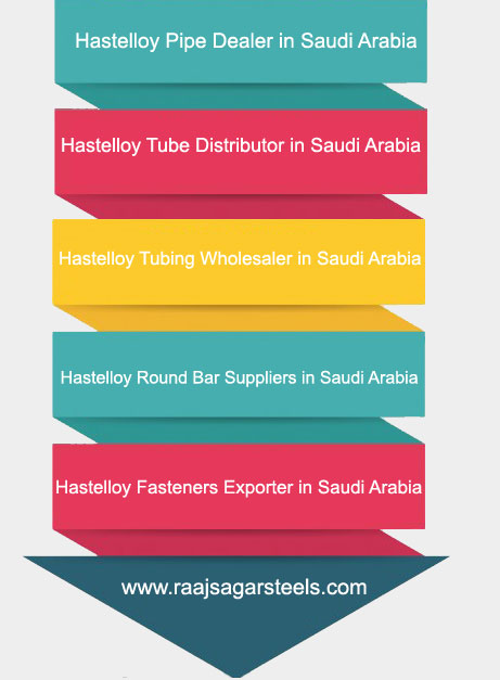 Hastelloy Pipe,Tube,Tubing,Round Bar Supplier in Saudi Arabia