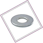 Duplex Steel UNS S31803 Round Washer
