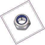 Inconel Alloy self locking nuts