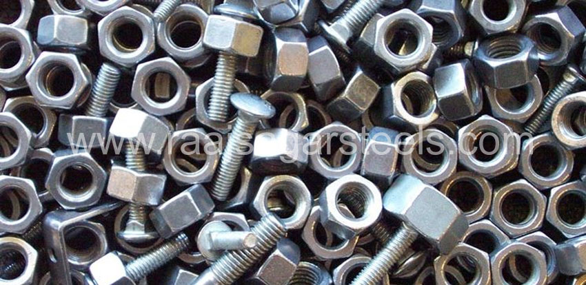 347/347H Stainless Steel Nuts